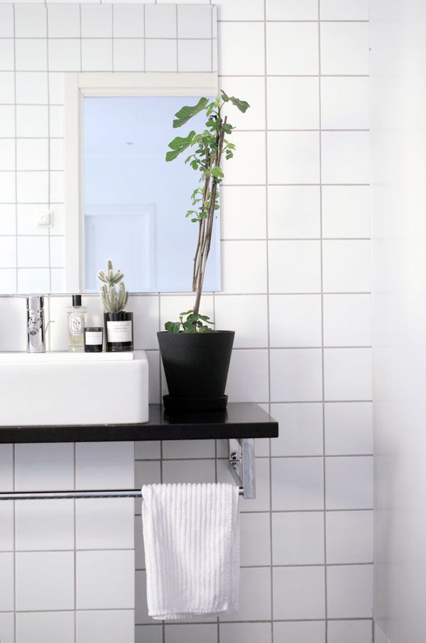 #Inspiration - #Bain - #Bathroom - #Nordique - #Scandinave - #Nordic - #Scandinavian - #Decoration