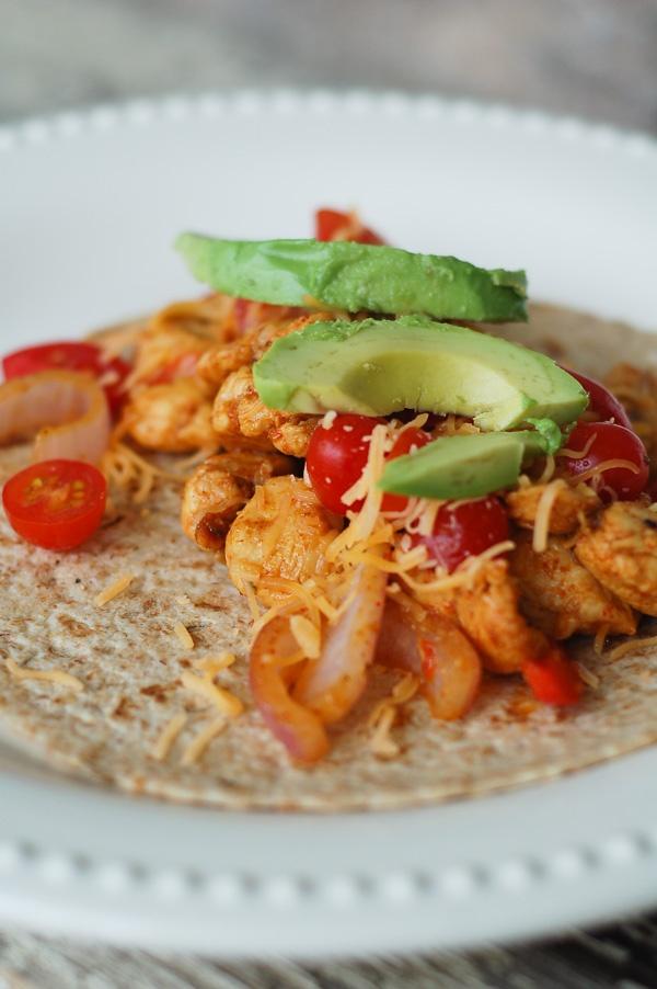 all things simple: simple recipe: chicken fajitas