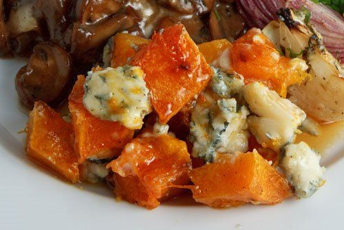 Roasted Butternut Squash With Caramelized Onions ...
