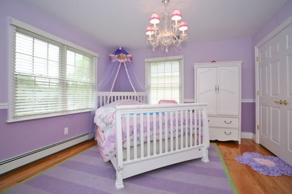 Pin by michelle bennett stroud on bedrooms pinterest - Little girl purple bedroom ideas ...