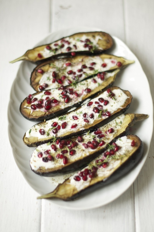 eggplant with buttermilk sauce | Scrumptious | Pinterest