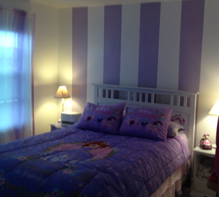 Sofia the first bedroom   toddler room ideas   Pinterest
