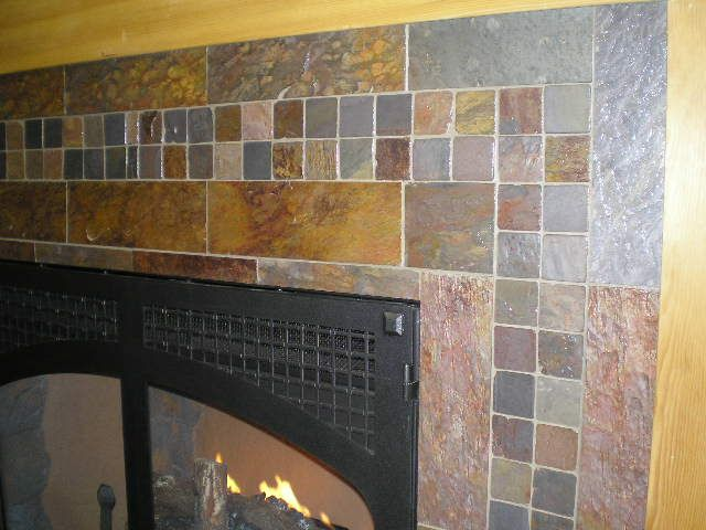 Slate Fireplace Surround Marsha Pinterest