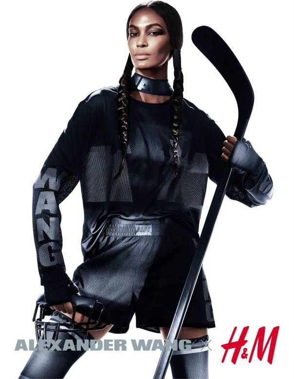 Isabeli Fontana, Joan Smalls, Natasha Poly, Raquel Zimmermann, Suvi Koponen by Mikael Jansson for Alexander Wang for H&M Fall Winter 2014-2015