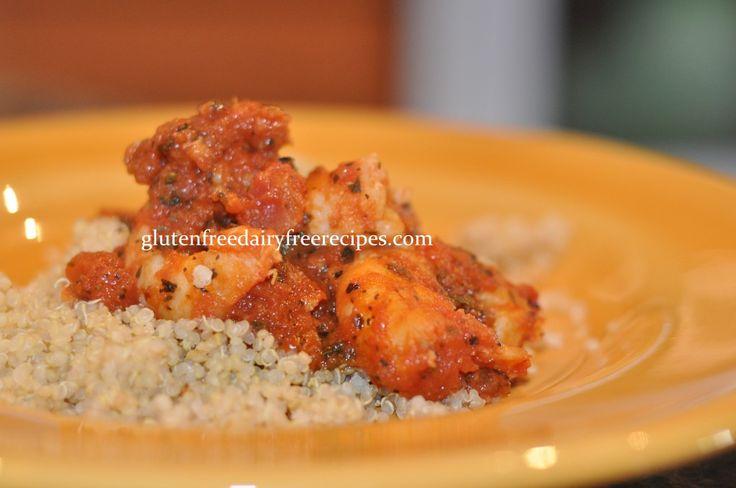 Shrimp Quinoa (Gluten Free/Dairy Free)   What the Health   Pinterest