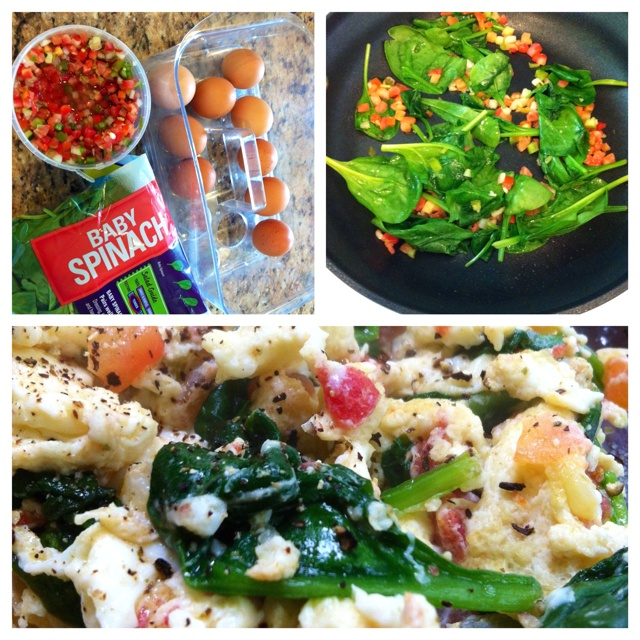 Scrambled Eggs With Spinach And White Cheddar Recipes — Dishmaps