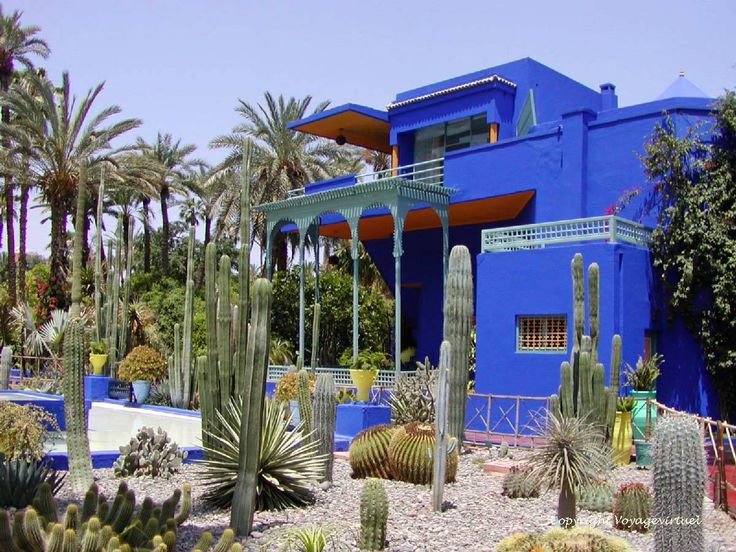 Majorelle majorelle garden islamic pinterest for Jardin ysl marrakech