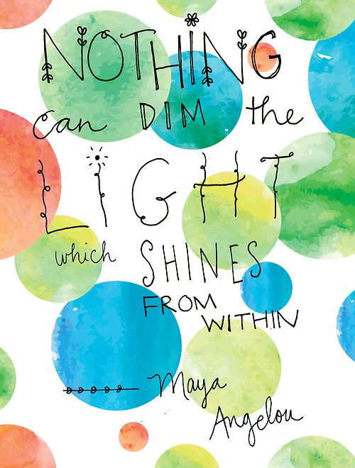 littlestfinch:  Words to inspire from Maya Angelou.  After hearing that she had died, I wanted to share one of my favorite quotes and though...