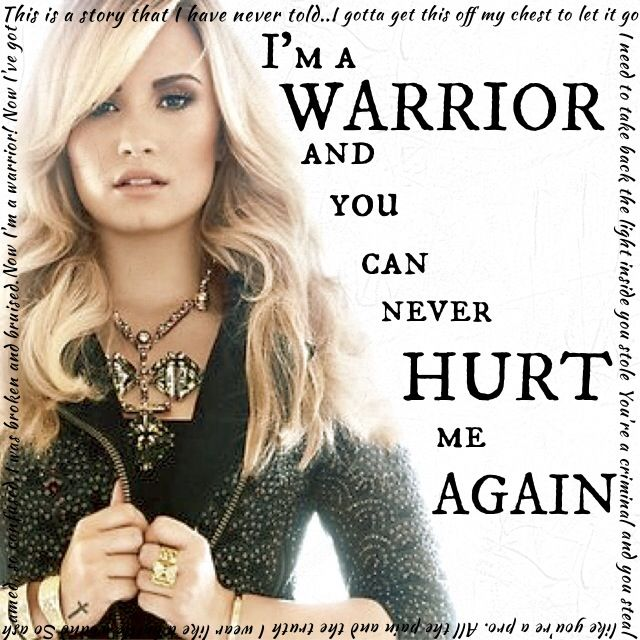 Warrior Demi Lovato Lyric Quotesgram