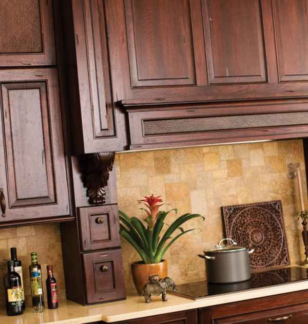 Tuscan style kitchen designs modern for the home pinterest for Modern tuscan kitchen design