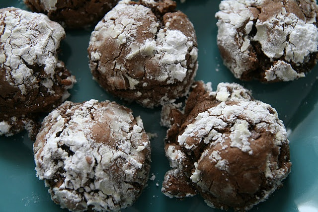 Chocolate Crinkles-I make these every x-mas they are so good.