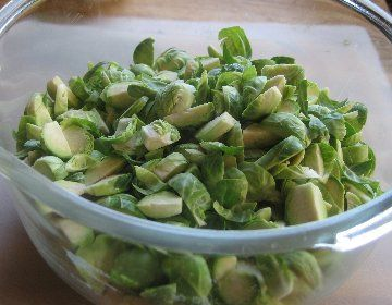 Hashed Brussels Sprouts with Poppy Seeds and Lemon, Brussel Sprouts ...