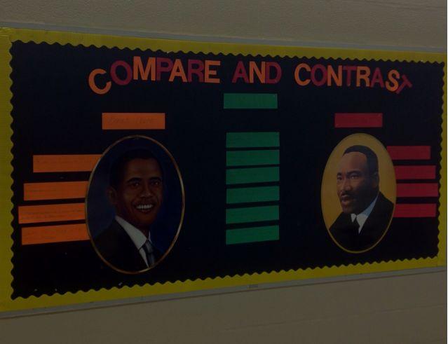 Black history month bulletin board ideas school days for Black bulletin board ideas