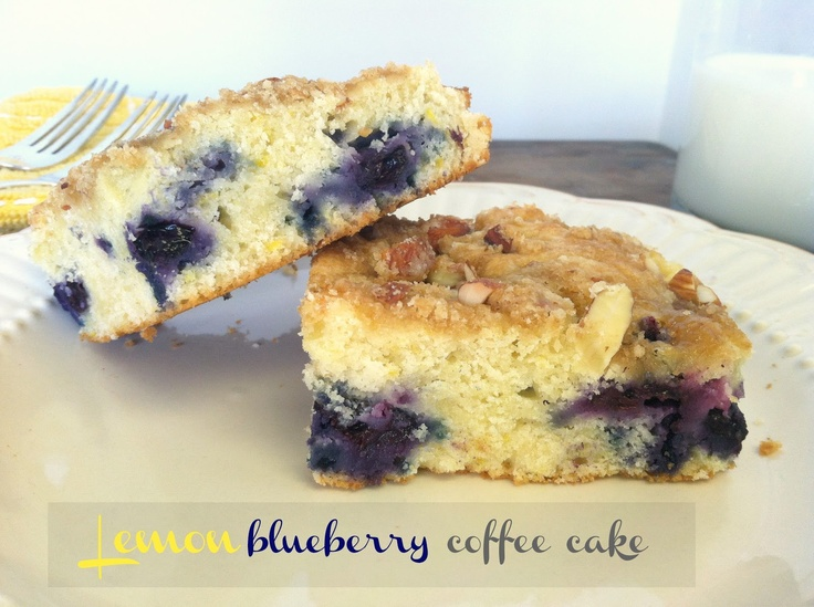 Lemon Blueberry Coffee Cake. | Breakfast | Pinterest