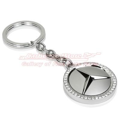 Mercedes benz swarovski key chain gifties pinterest for Mercedes benz chain