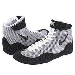 This wrestling shoe was designed for the athlete who wants to 'Inflict