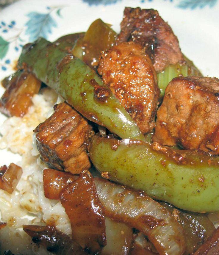 Pepper steak   RECIPE'S   Pinterest