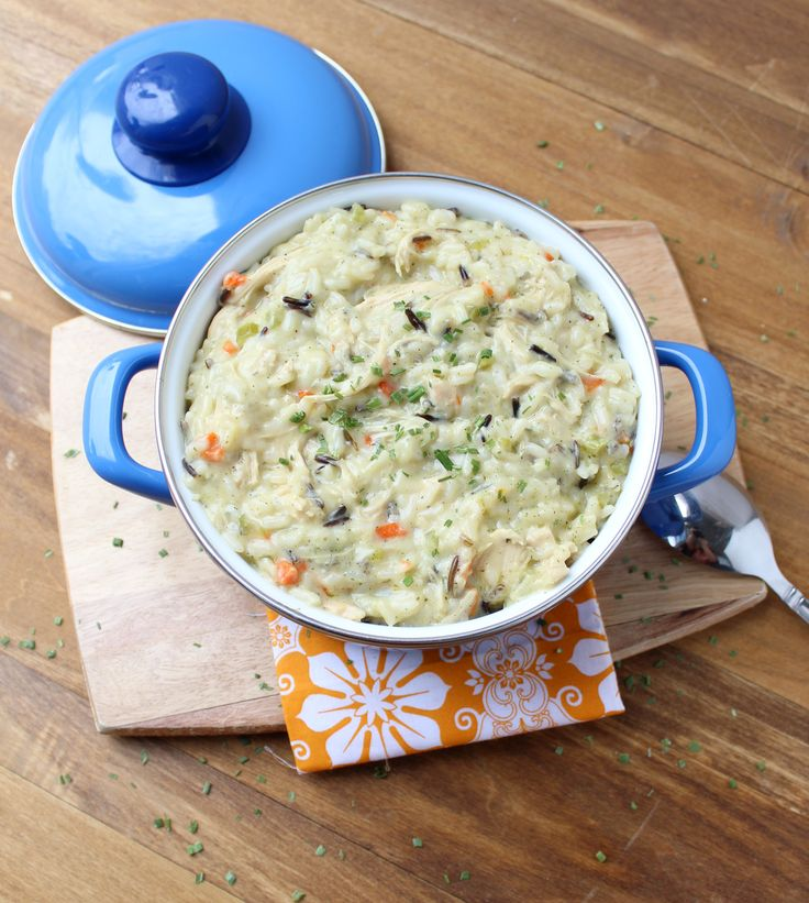 Creamy Chicken and Wild Rice Soup | Soups! | Pinterest