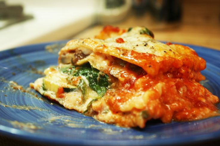 Roasted vegetable lasagna | Casseroles and Oven Bakes | Pinterest
