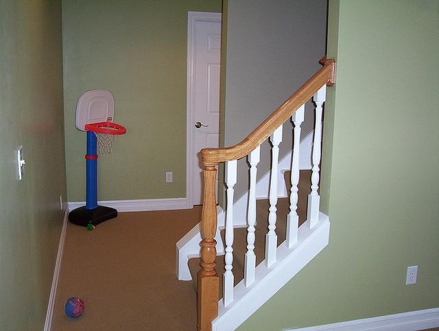 basement railing basement ideas pinterest