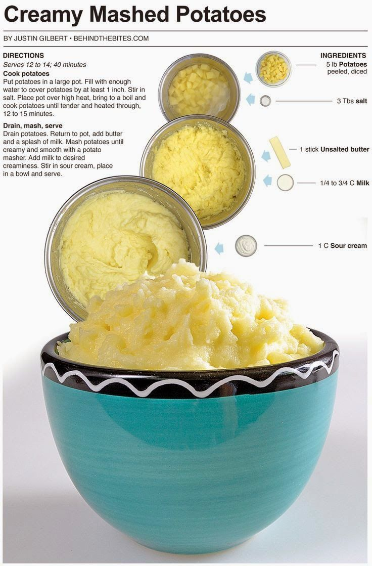 How To Make Creamy Mashed Potatoes | Food! | Pinterest