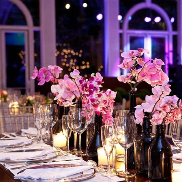 Rosa e preto =)  Casamento  decoração (festa)  Pinterest
