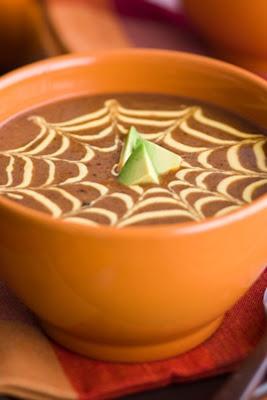Black Bean and Pumpkin Soup | pumpkin recipes | Pinterest