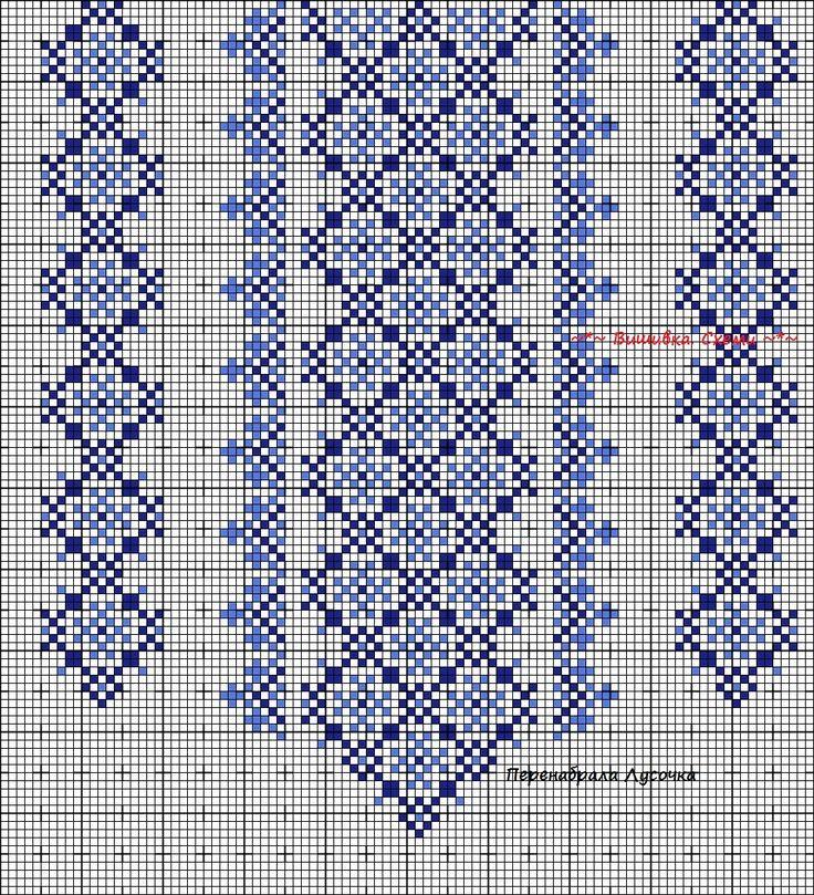 Схемы вышивок для сорочки