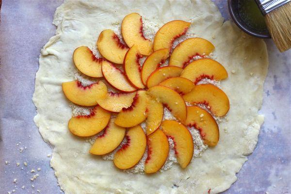Peach Almond Galette | Desserts | Pinterest