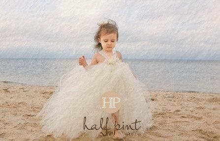 Beach Flower Girl Dress Wedding Nonsense Pinterest