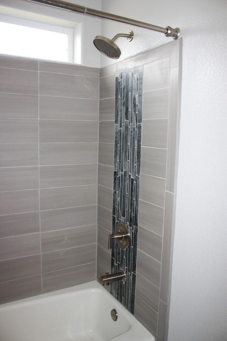porcelain tile bathroom gray