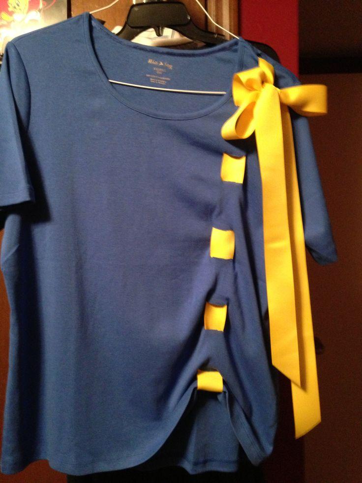 School Spirit Shirt Blue Averie Pinterest