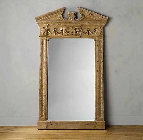 Entablature Mirror Restoration Hardware For The Country