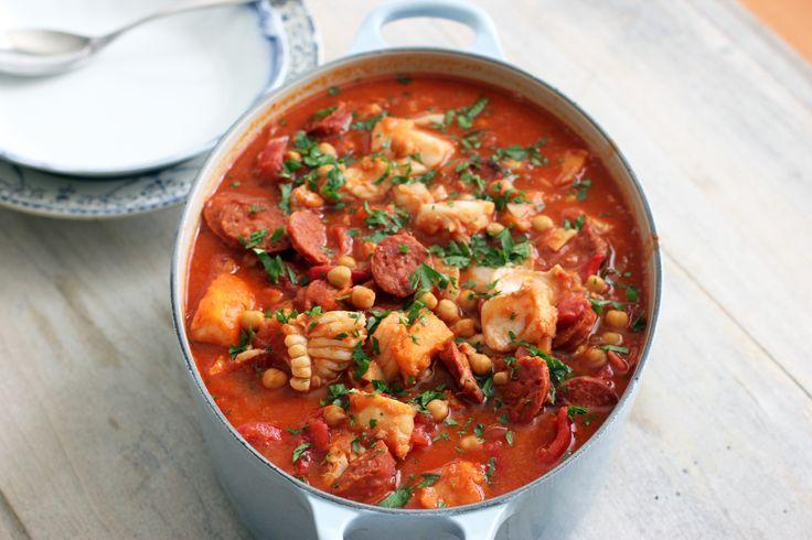Portuguese Fish Stew | Soups, Stews, Pot Pies | Pinterest