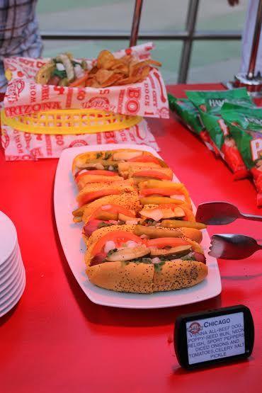 Hot Dog Hall of Fame no Universal