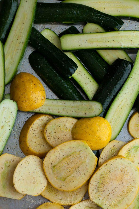 Grilled Zucchini and Summer Squash with Yogurt Cumin Sauce | Gourmande ...
