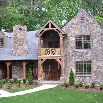 Stone And Timber House Front Design Pictures Remodel
