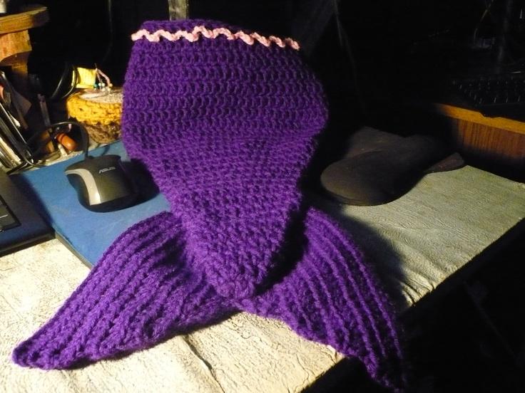 mermaid tail free pattern! :) | Crochet-misc baby | Pinterest