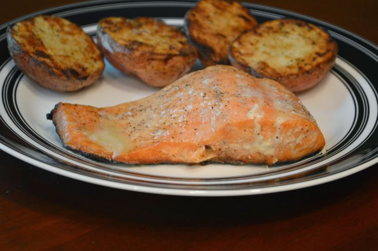 Grilled Salmon with a Lime Butter Sauce | Favorite Recipes | Pinterest