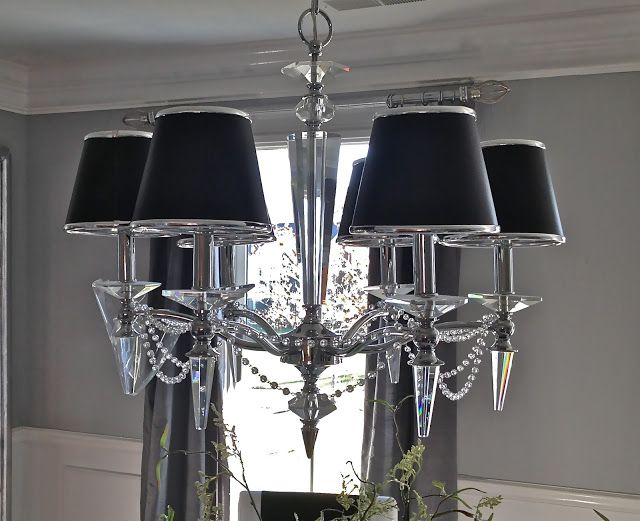 South Shore Decorating Blog: How to Make A Crystal Chandelier (a.k.a ...