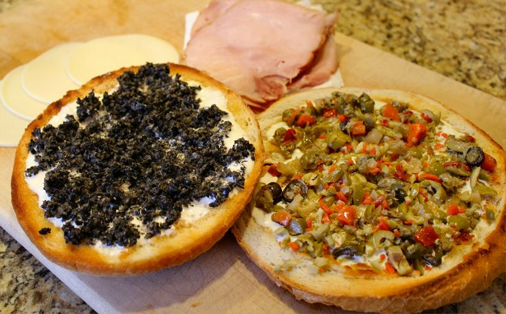 Muffaletta Sandwich | ENTERTAINING / MARDI GRAS | Pinterest