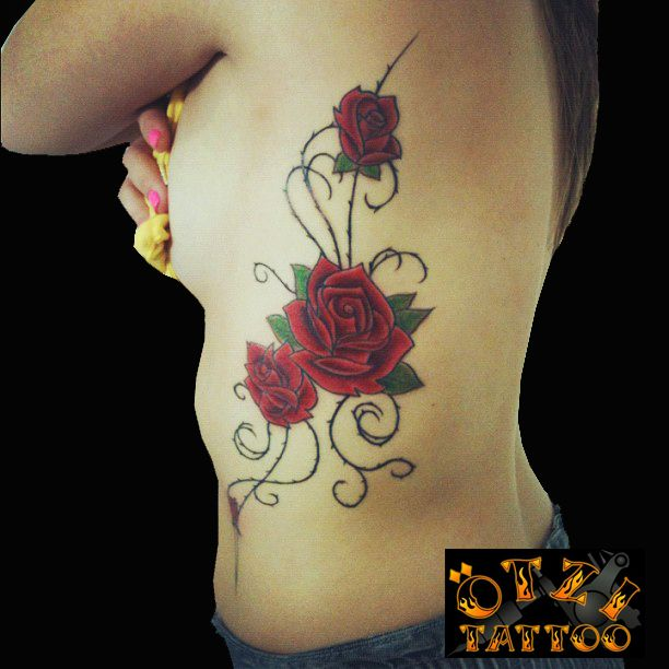 Roses Tattoo  &214tzi Pinterest