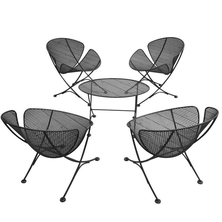 Set of Outdoor Furniture by Salterini Mobilier