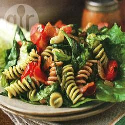 Bacon, Lettuce and Tomato Pasta----This pasta dish takes its ...