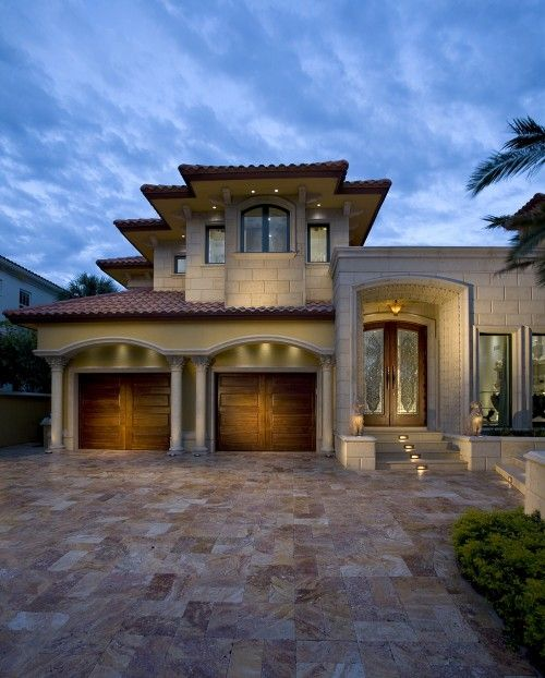 Pin by clopay garage doors and entry doors on spanish for Mediterranean interior doors