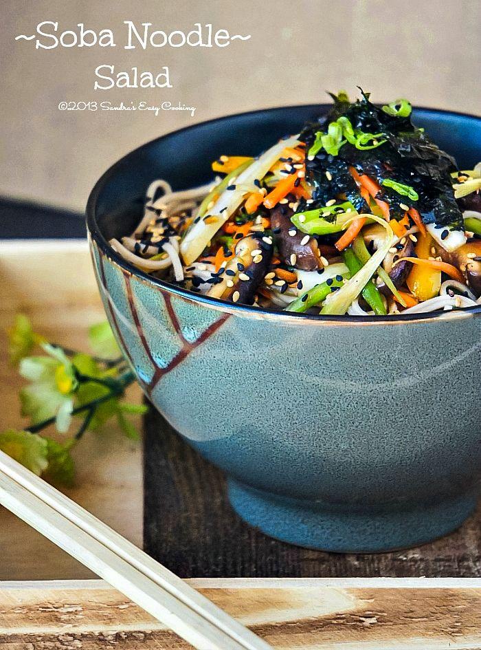 soba noodle salad | Salads | Pinterest