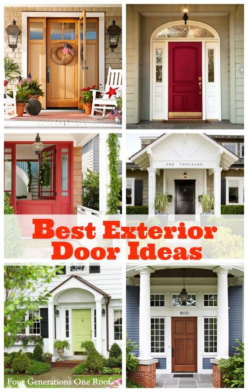 Best exterior door ideas our front door makeover for Exterior makeover ideas