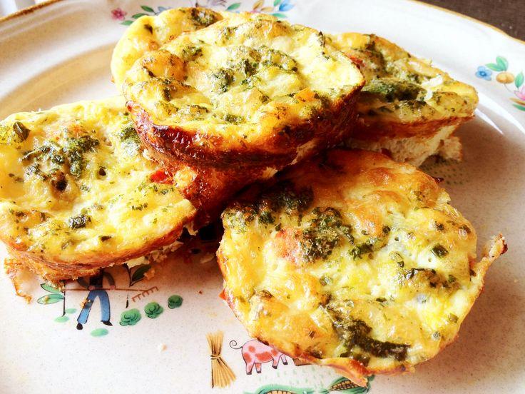 Mini Crustless Quiché Bites | Food | Breakfast & Lunch | Pinterest
