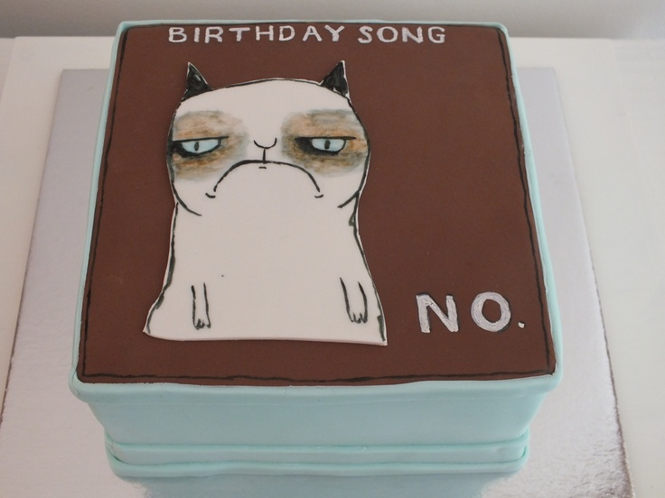 Grumpy Cat Cake Design : Pinterest: Discover and save creative ideas