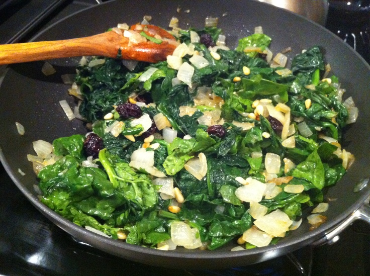 pine nuts and raisins recipe yummly sautéed greens with pine nuts ...